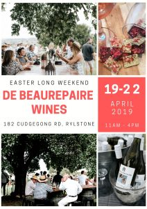 Easter at De Beaurepaire Wines 2019
