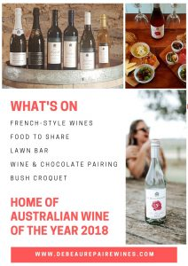 What's on Easter 2019 at De Beaurepaire Wines