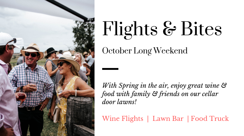 Spring FLIGHTS AND BITES event at De Beaurepaire Wines