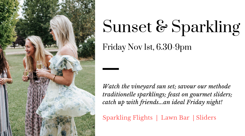 Spring Sunset and Sparkling event at De Beaurepaire Wines