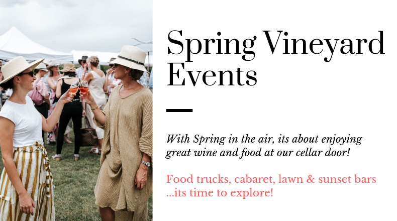 Spring vineyard events at De Beaurepaire Wines
