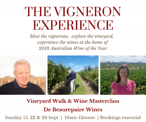 Vigneron Experience at De Beaurepaire Wines