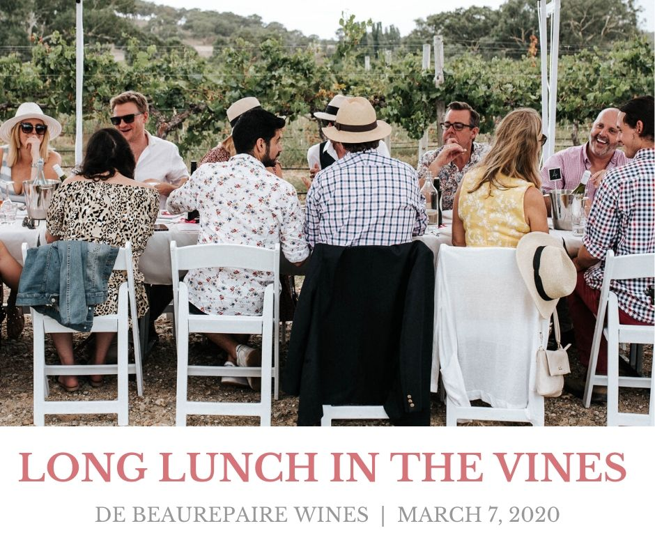 De Beaurepaire Wines Long Lunch in the Vines 2020
